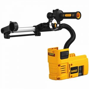 Cordless rotary hammer accessories
