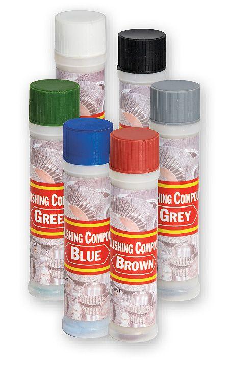Ameta Solution 45-3000 Pâte à polir tube 110g bleu