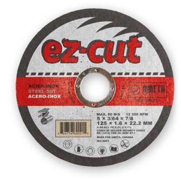 Ameta Solution 62-0412 Meule à tronçonner ez-cut 4