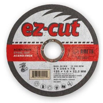 Ameta Solution 62-2721 Meule à tronçonner ez-cut 5