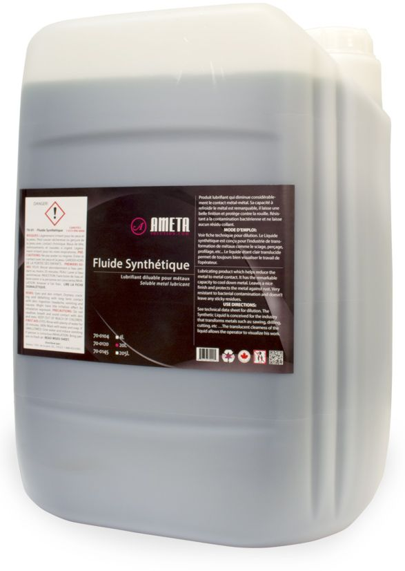 Ameta Solution 70-0120 20L Synthetic fluid cutting/drilling lubricant
