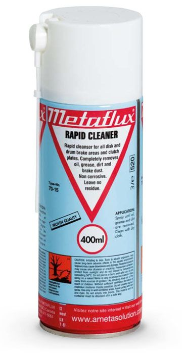 Metaflux 70-15 400ml Aerosol fast cleaner