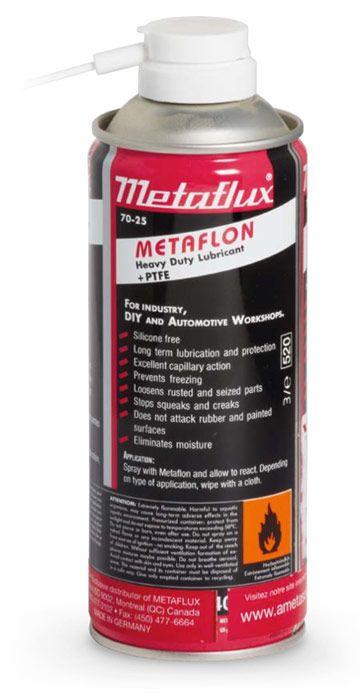 Metaflux 70-2501 Lubrifiant tout-usages aérosol 100ml metaflon