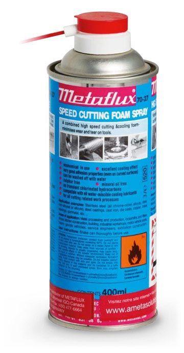 Metaflux 70-27 Lubrifiant de coupe / perçage mousse 400ml