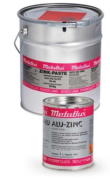 Metaflux 70-4110 Revêtement métallique zinc pâte 10l