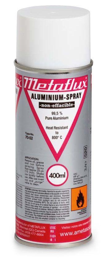 Metaflux 70-52 400ml Aerosol aluminium galvanized coating