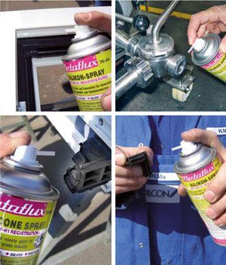 Metaflux 70-64 400ml Aerosol silicone food grade lubricant