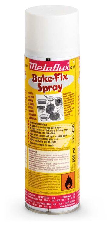 Metaflux 70-67 500ml Aerosol Bake-Fix lubricant