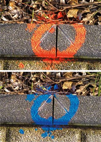 Ameta Solution 70-73 Peinture marqueur aérosol 500ml bleu