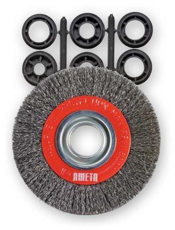 Ameta Solution 72-7000 Brosse crêpée circulaire 7