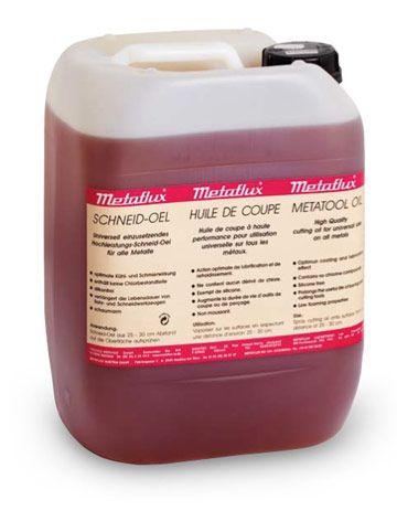 Metaflux 75-0310 Lubrifiant de coupe / perçage huile 10l