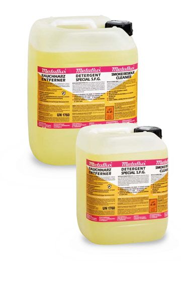 Metaflux 75-3502 Détergent suie et fumée liquide 200L (concentré)