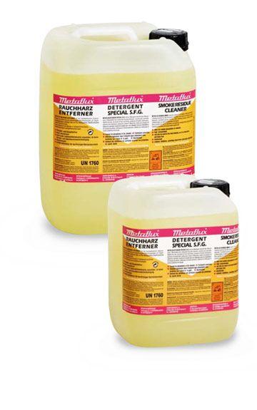 Metaflux 75-3520 Détergent suie et fumée liquide 20L (concentré)