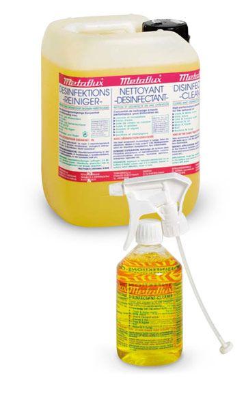Metaflux 75-4120 Nettoyant désinfectant liquide 20L