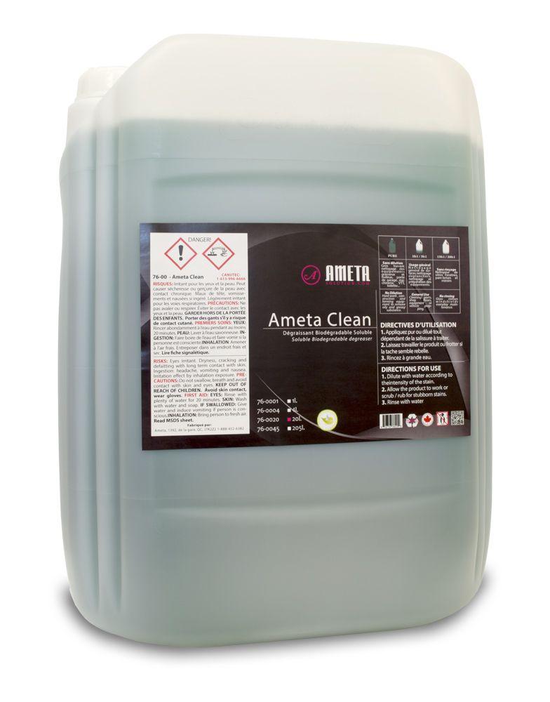 Ameta Solution 76-0020 Dégraissant ametaclean liquide 20l