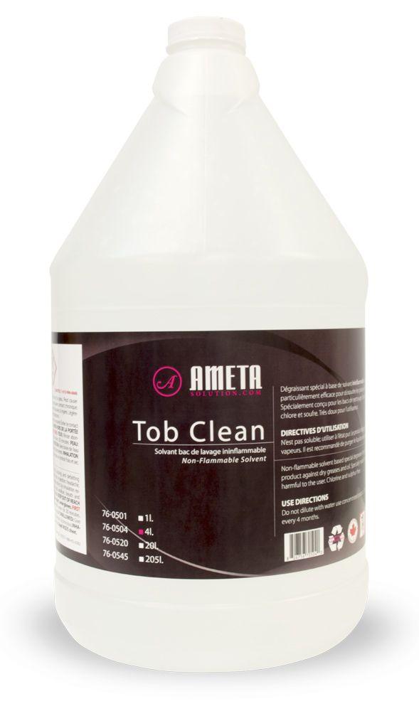 Ameta Solution 76-0504 Nettoyant pour bacs de lavage liquide 4L