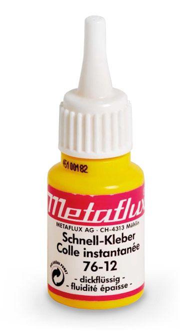 Metaflux 76-12 Colle liquide 25g - fluidité moyenne