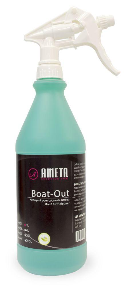 Ameta Solution 76-1801 Dégraissant boat-out vaporisateur 960ml