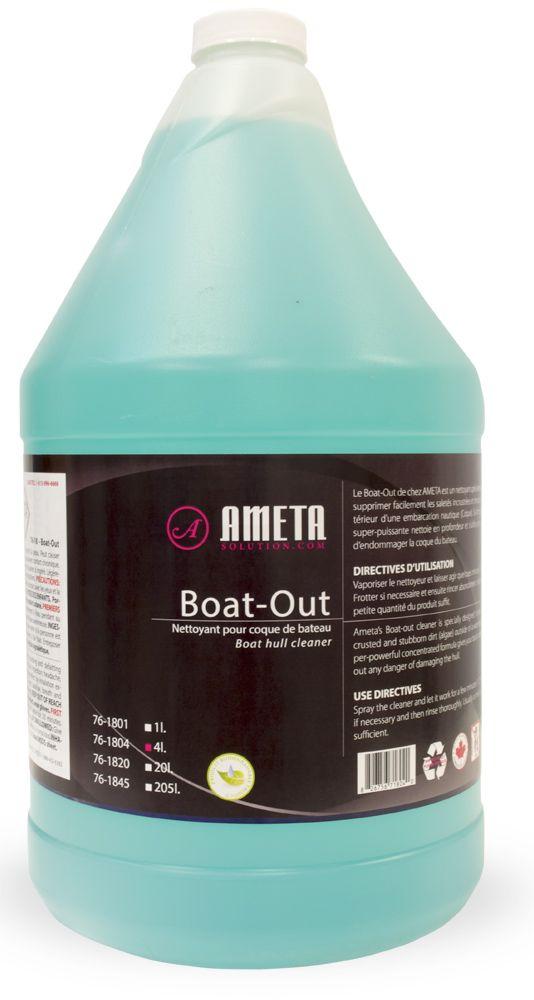 Ameta Solution 76-1804 Dégraissant boat-out liquide 4l