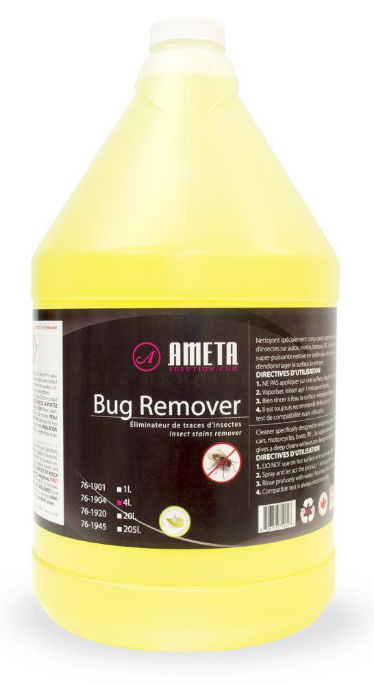 Ameta Solution 76-1904 Nettoyant automobile liquide pour les insectes 4L