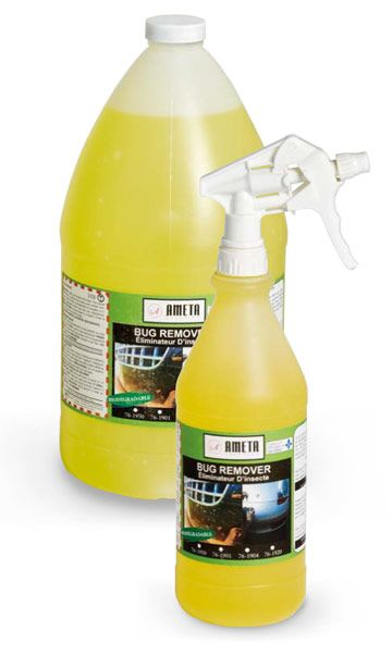 Ameta Solution 76-1945 Nettoyant automobile liquide pour les insectes 205L