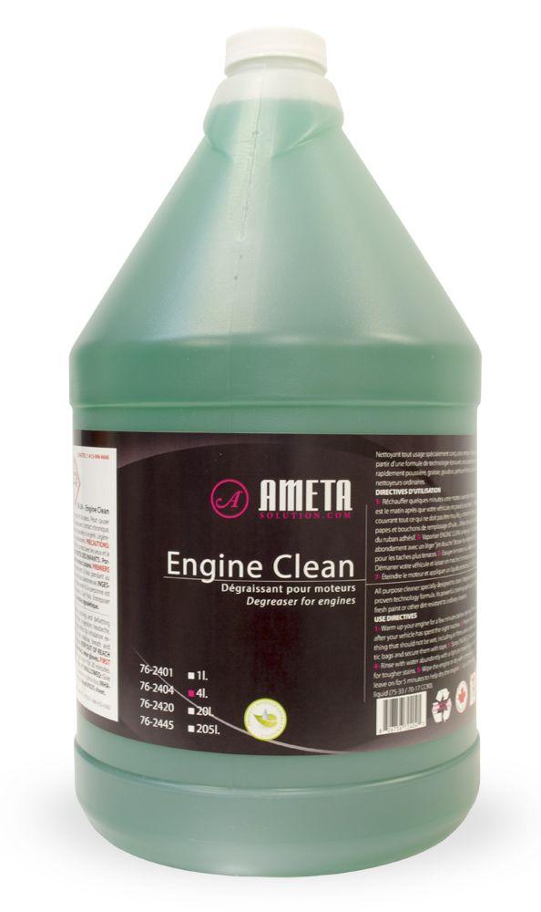 Ameta Solution 76-2404 Nettoyant automobile moteur liquide 4l