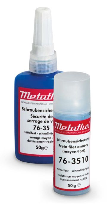 Metaflux 76-35 Adhésif pour filets liquide 50g ( bleu )