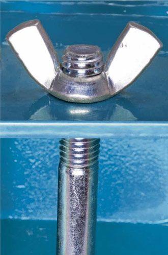Ameta Solution 78-0110 Adhésif pour filets liquide 10ml ( bleu )