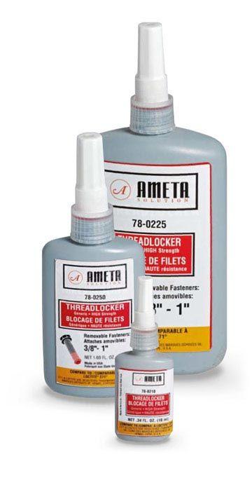 Ameta Solution 78-0225 Adhésif pour filets liquide 250ml ( rouge )
