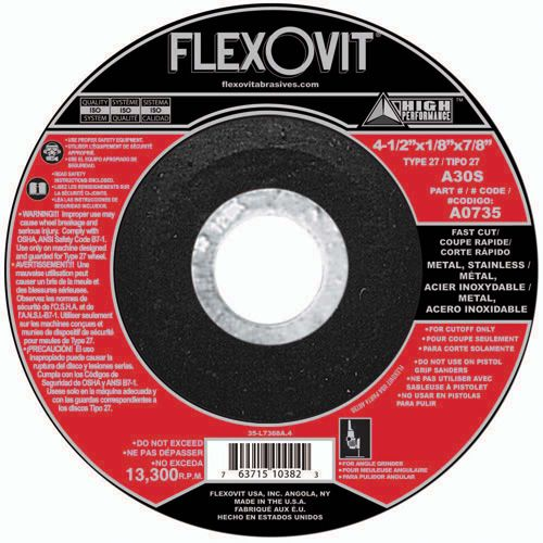 Flexovit A0017 Meule à tronçonner high performance 3
