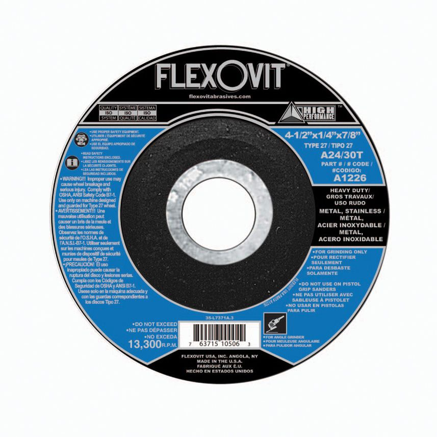 Flexovit A0406 Meule à rectifier high performance 4