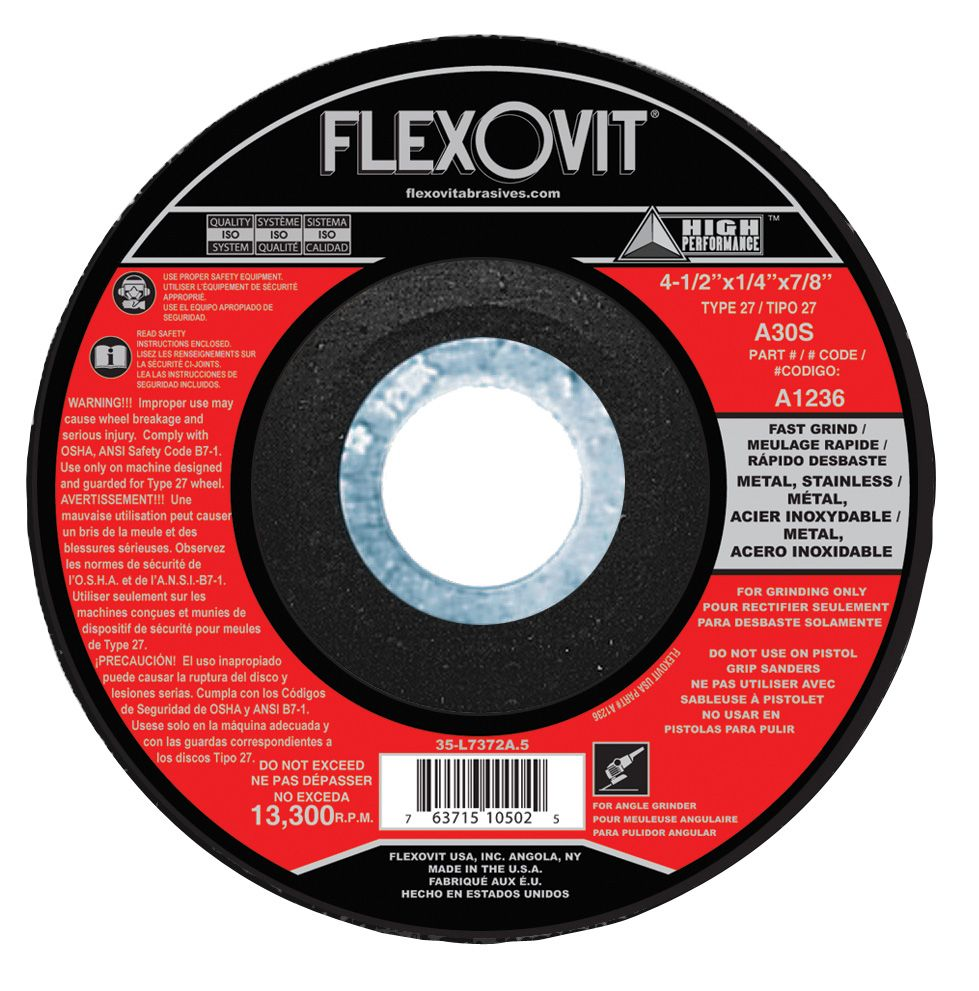 Flexovit A0414 Meule à rectifier high performance 4