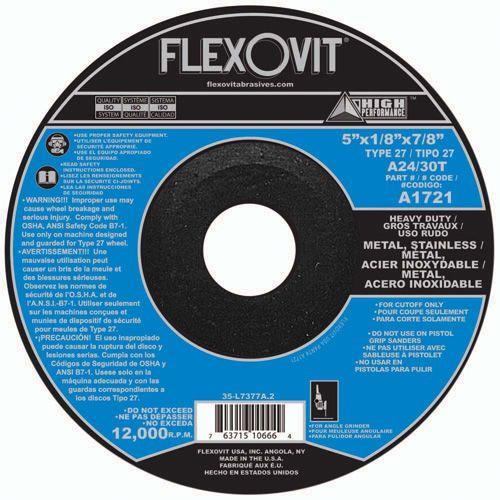 Flexovit A0721 Meule à tronçonner high performance 4-1/2