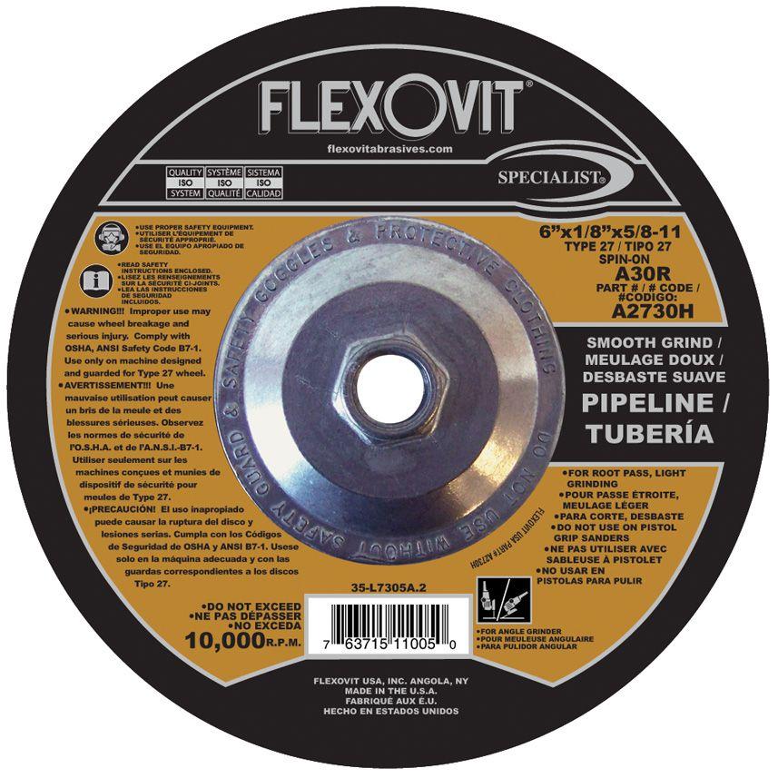 Flexovit A0780H Meule à tronçonner specialist® 4-1/2