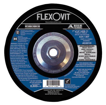 Flexovit A1226H Meule à rectifier high performance 4-1/2