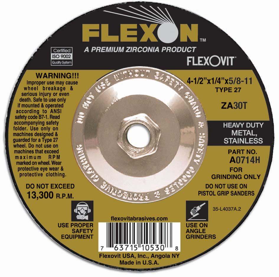 Flexovit A1714H Meule à rectifier flexon® 5