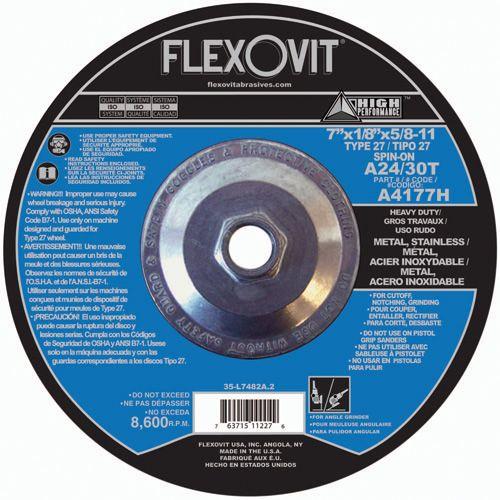 Flexovit A1722H Meule à tronçonner high performance 5