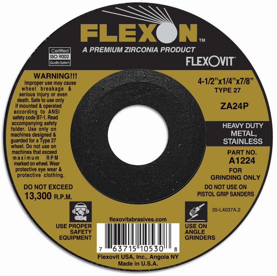 Flexovit A2224 Meule à rectifier flexon® 5