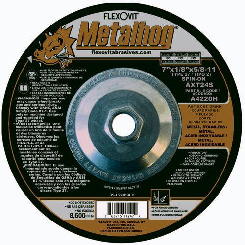 Flexovit A2720H Meule à rectifier metalhog® 6
