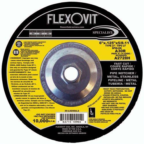 Flexovit A2728H Meule à tronçonner specialist® 6