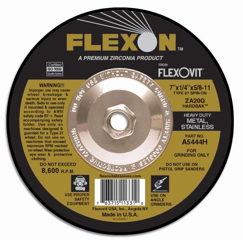 Flexovit A3244H Meule à rectifier flexon® 6