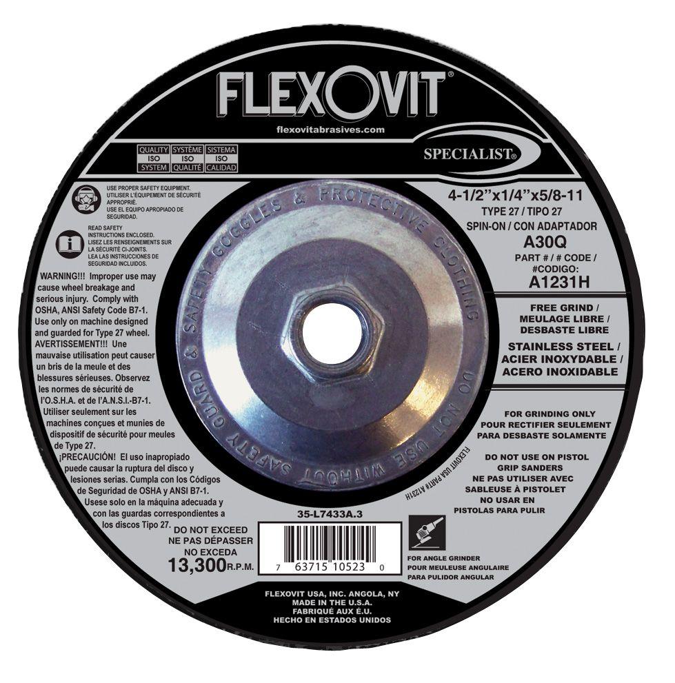 Flexovit A3331H Meule à rectifier specialist® 6