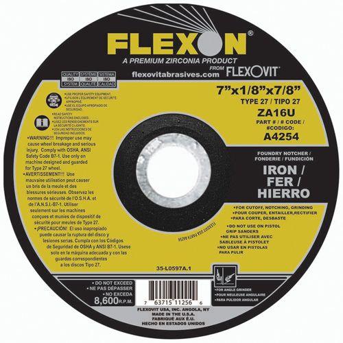 Flexovit A4254 Meule à tronçonner flexon® 7