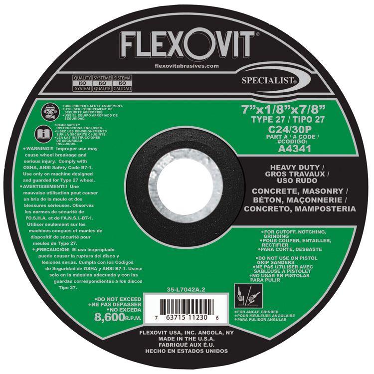 Flexovit A4341 7