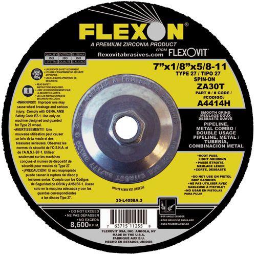 Flexovit A4414H Meule à rectifier flexon® 7