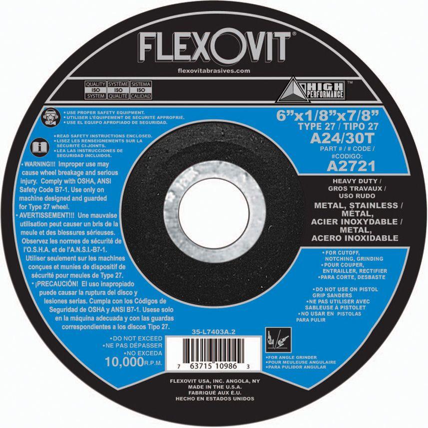 Flexovit A7177 9