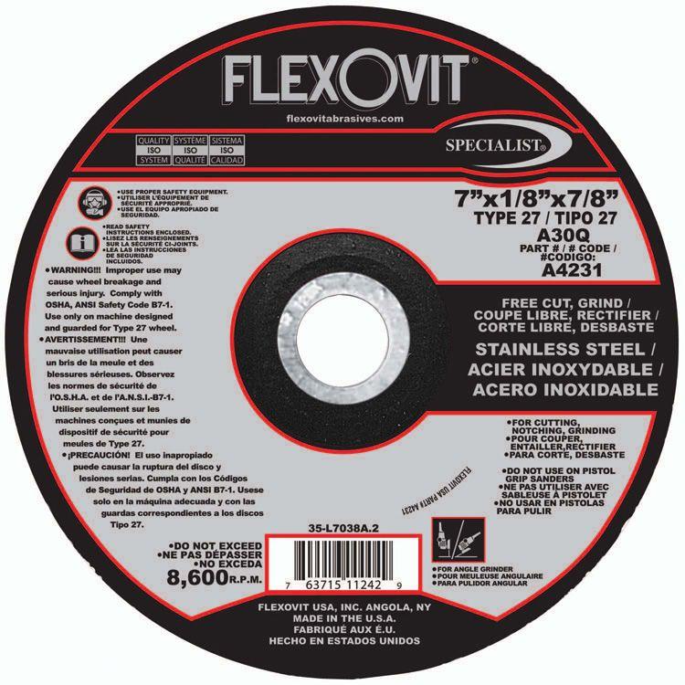 Flexovit A7231 9