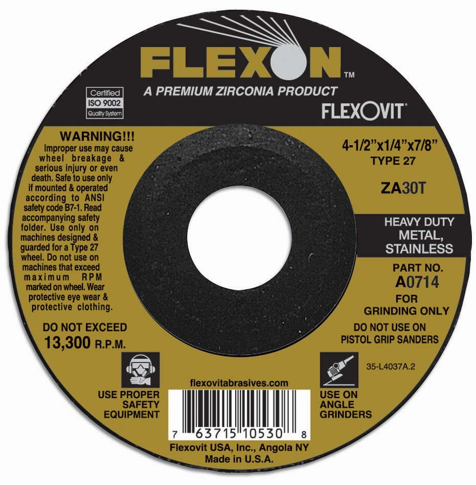 Flexovit A7414 Meule à rectifier flexon® 9