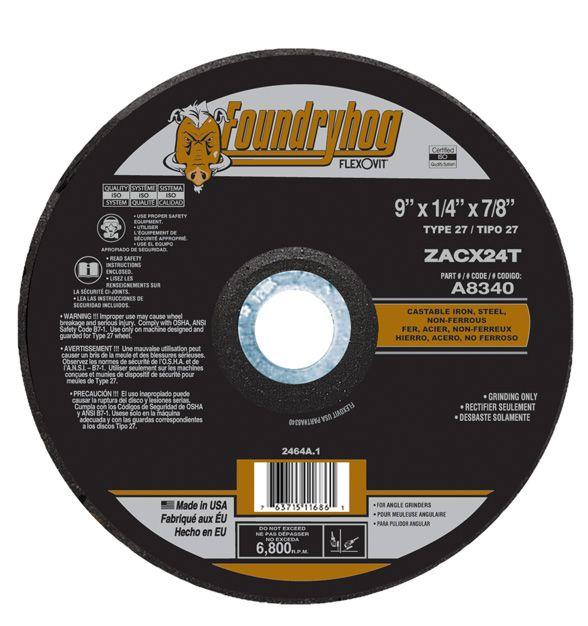 Flexovit A8340 Meule à rectifier foundryhog 9