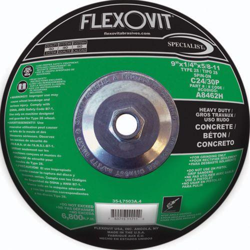 Flexovit A8462H Meule à rectifier specialist® 9
